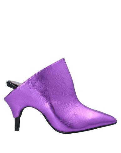 Купить Мюлес и сабо от JEFFREY CAMPBELL розовато-лилового цвета