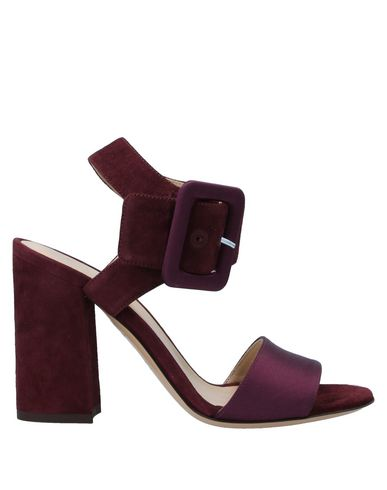 Купить Женские сандали  цвет баклажанный