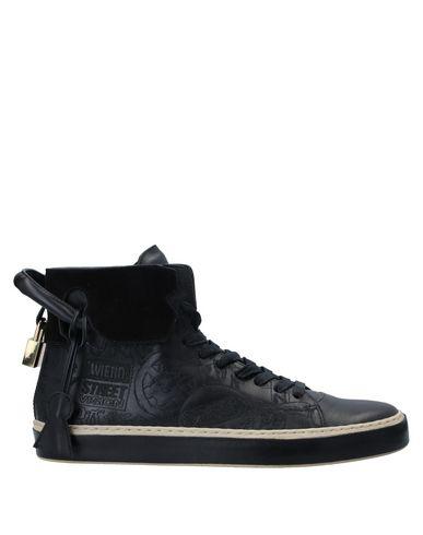 Купить Высокие кеды и кроссовки от BUSCEMI черного цвета