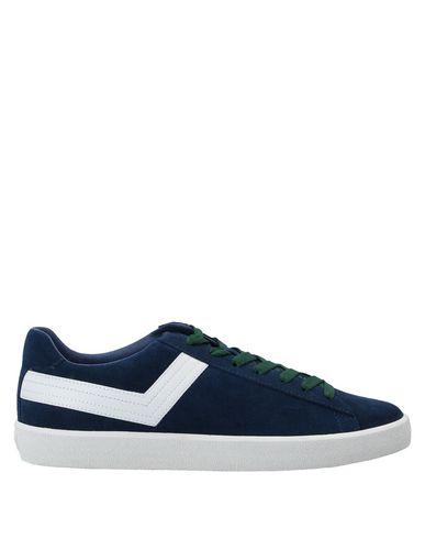 Купить Низкие кеды и кроссовки синего цвета