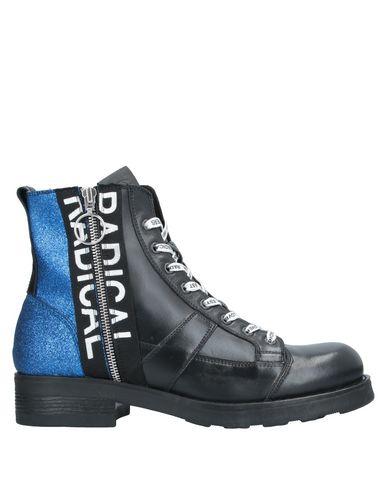 Купить Полусапоги и высокие ботинки от O.X.S. синего цвета