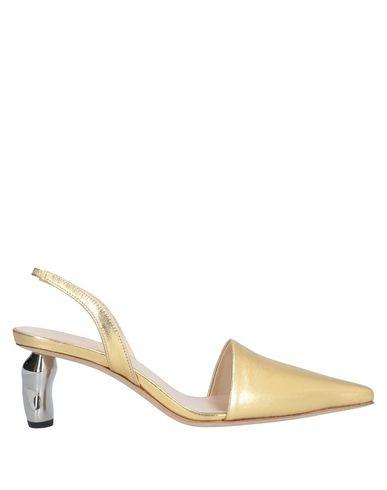 Купить Женские туфли REJINA PYO золотистого цвета