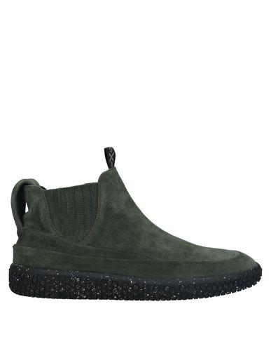 Купить Полусапоги и высокие ботинки от O.X.S. зеленого цвета