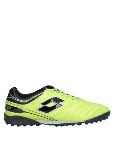 Купить Низкие кеды и кроссовки кислотно-зеленого цвета