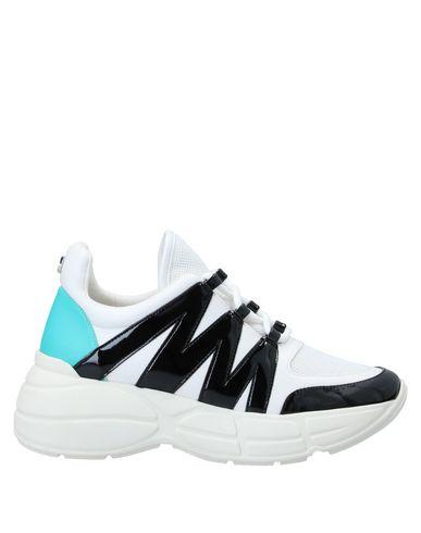Купить Низкие кеды и кроссовки от STEVE MADDEN белого цвета