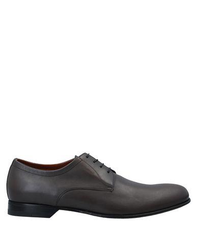 Купить Обувь на шнурках свинцово-серого цвета