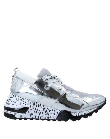 Купить Низкие кеды и кроссовки от STEVE MADDEN серебристого цвета