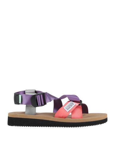 Купить Мужские сандали SUICOKE фиолетового цвета