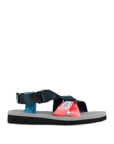 Купить Мужские сандали SUICOKE синего цвета