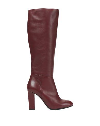 Купить Женские сапоги 8 by YOOX красно-коричневого цвета