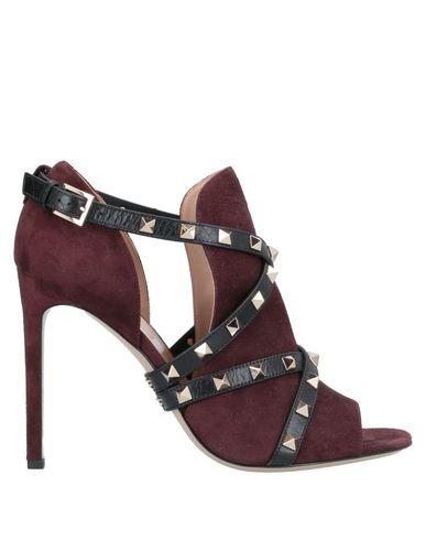 Купить Женские ботинки и полуботинки  красно-коричневого цвета