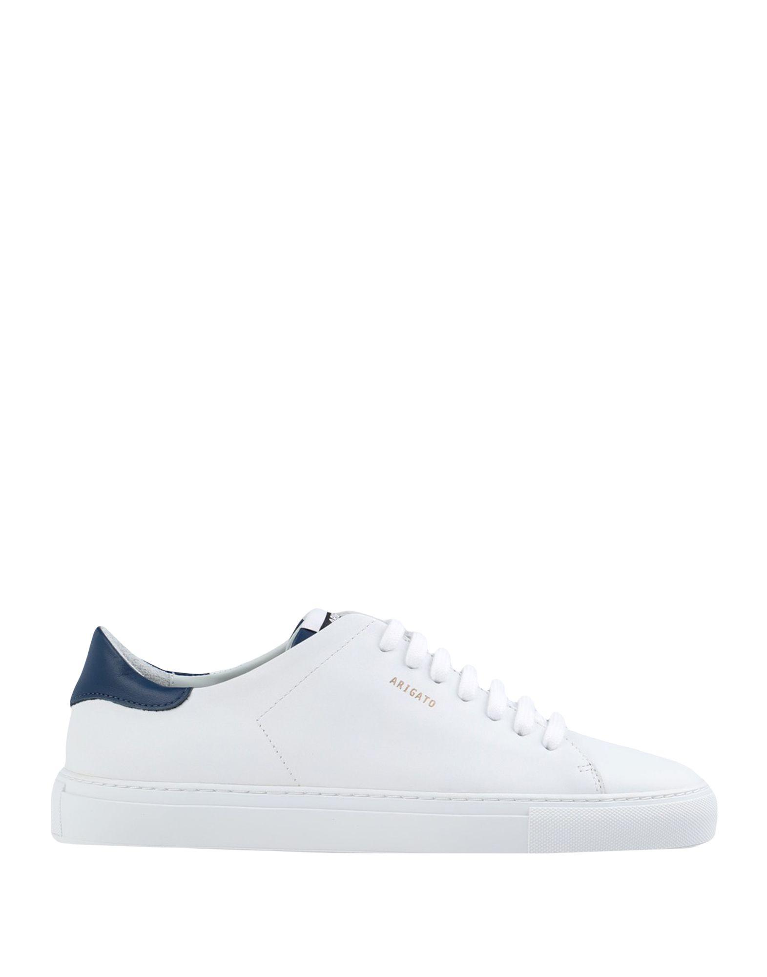 《セール開催中》AXEL ARIGATO メンズ スニーカー&テニスシューズ(ローカット) ホワイト 40 革 100% CLEAN 90