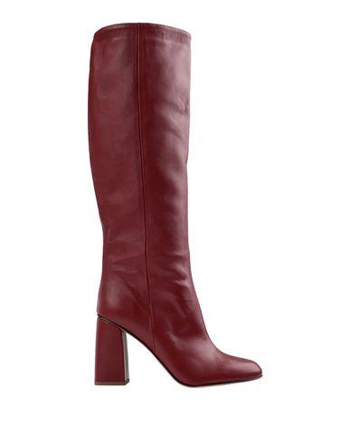 Купить Женские сапоги BIANCA DI красно-коричневого цвета