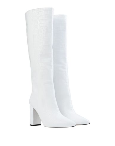 Фото 2 - Женские сапоги BIANCA DI белого цвета