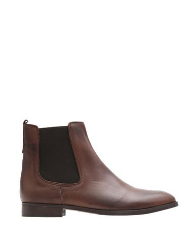 Купить Полусапоги и высокие ботинки от 8 by YOOX темно-коричневого цвета