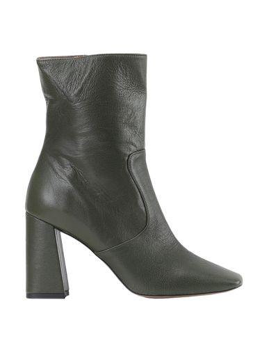Купить Полусапоги и высокие ботинки от BIANCA DI цвет зеленый-милитари