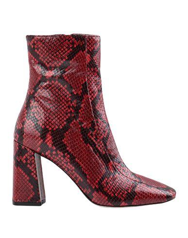 Купить Полусапоги и высокие ботинки от BIANCA DI красного цвета