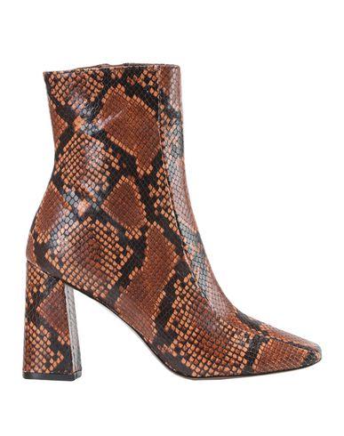 Купить Полусапоги и высокие ботинки от BIANCA DI желто-коричневого цвета