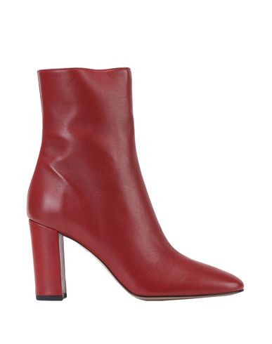 Купить Полусапоги и высокие ботинки от BIANCA DI красно-коричневого цвета