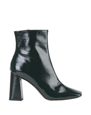 Купить Полусапоги и высокие ботинки от BIANCA DI темно-зеленого цвета