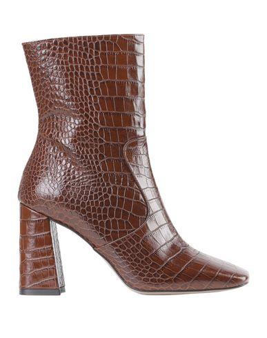 Купить Полусапоги и высокие ботинки от BIANCA DI коричневого цвета