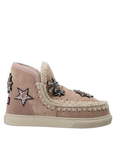 Купить Полусапоги и высокие ботинки от MOU цвет телесный