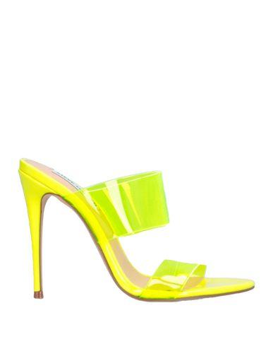 Купить Женские сандали STEVE MADDEN желтого цвета