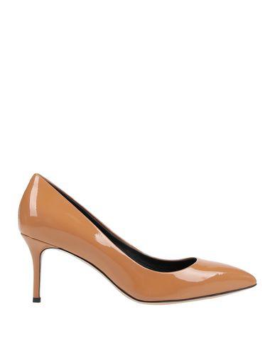 Купить Женские туфли  желто-коричневого цвета