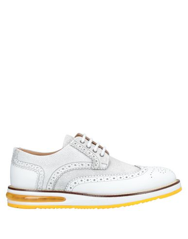 Купить Обувь на шнурках от BARLEYCORN белого цвета