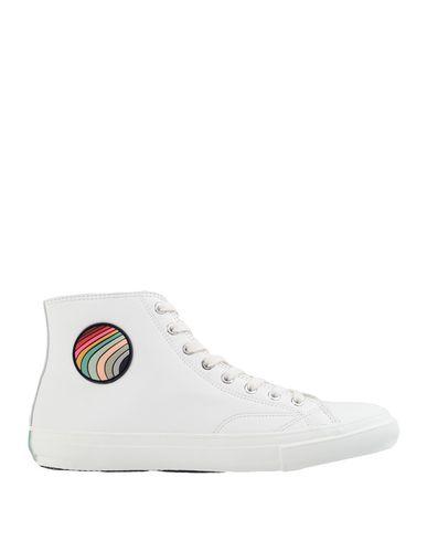 Купить Высокие кеды и кроссовки белого цвета