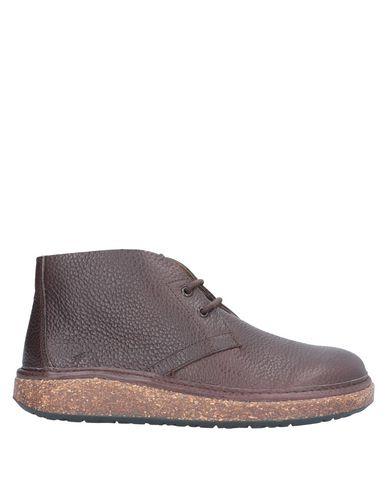 Купить Полусапоги и высокие ботинки темно-коричневого цвета