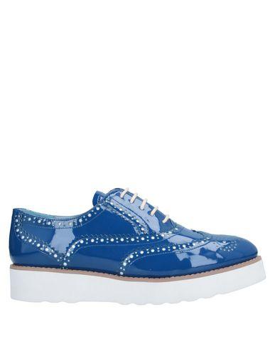 Купить Обувь на шнурках синего цвета