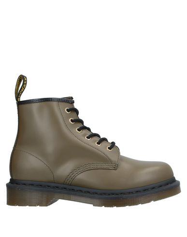 Купить Полусапоги и высокие ботинки цвет зеленый-милитари