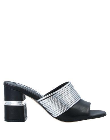 Купить Женские сандали EMANUÉLLE VEE серебристого цвета