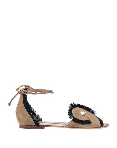 Купить Женские сандали KALLISTÈ цвета хаки