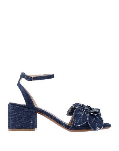 Купить Женские сандали KALLISTÈ синего цвета