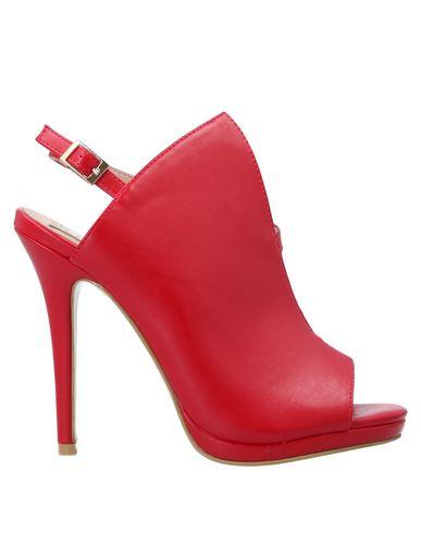 Купить Женские сандали  красного цвета