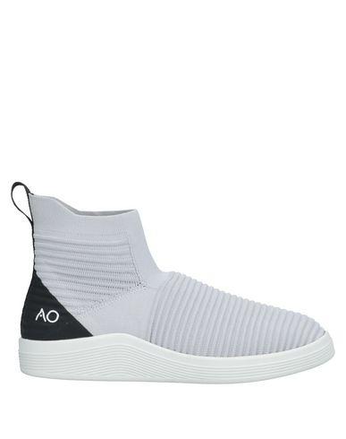 Купить Высокие кеды и кроссовки от ADNO® светло-серого цвета