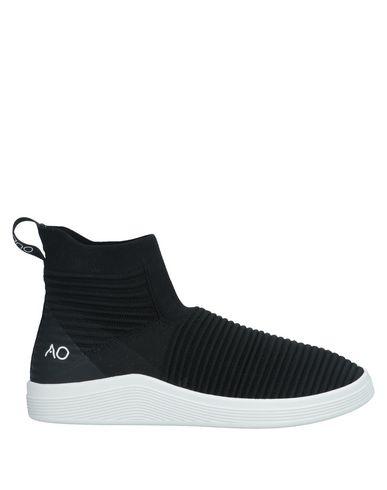 Купить Высокие кеды и кроссовки от ADNO® черного цвета