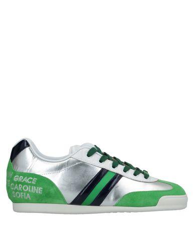 Купить Низкие кеды и кроссовки от SERAFINI LUXURY зеленого цвета