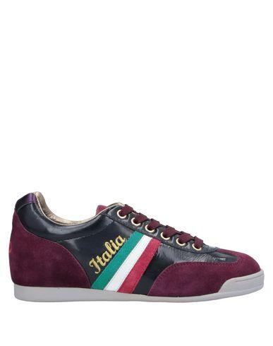 Купить Низкие кеды и кроссовки от SERAFINI LUXURY красно-коричневого цвета
