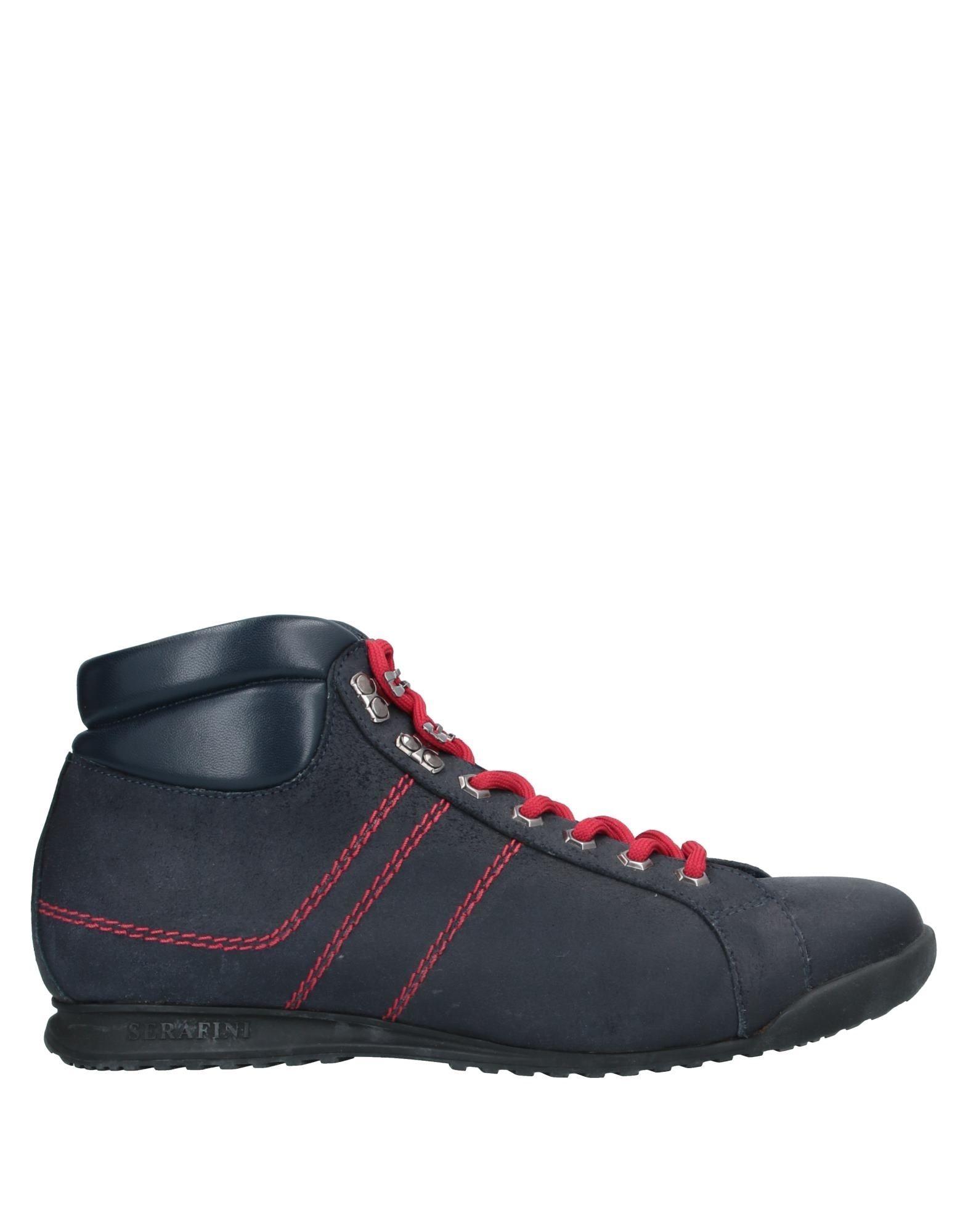 SERAFINI Высокие кеды и кроссовки