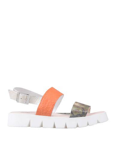 Купить Женские сандали EBARRITO цвет зеленый-милитари