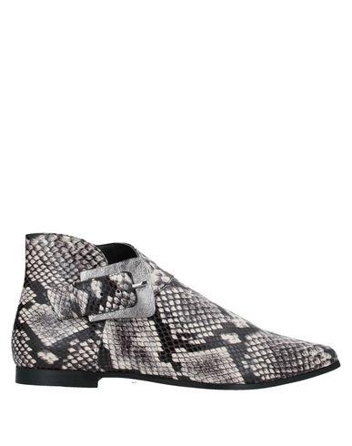 Купить Полусапоги и высокие ботинки от DIBRERA BY PAOLO ZANOLI серого цвета