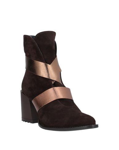 Фото 2 - Полусапоги и высокие ботинки от DIBRERA BY PAOLO ZANOLI темно-коричневого цвета