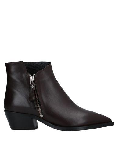 Купить Полусапоги и высокие ботинки от DIBRERA BY PAOLO ZANOLI темно-коричневого цвета
