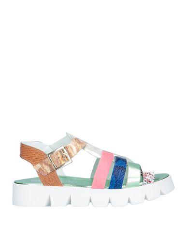Купить Женские сандали EBARRITO светло-зеленого цвета