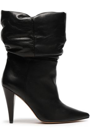 IRO Gathered leather boots