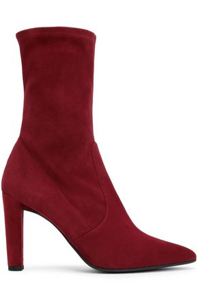 STUART WEITZMAN Stretch-suede ankle boots