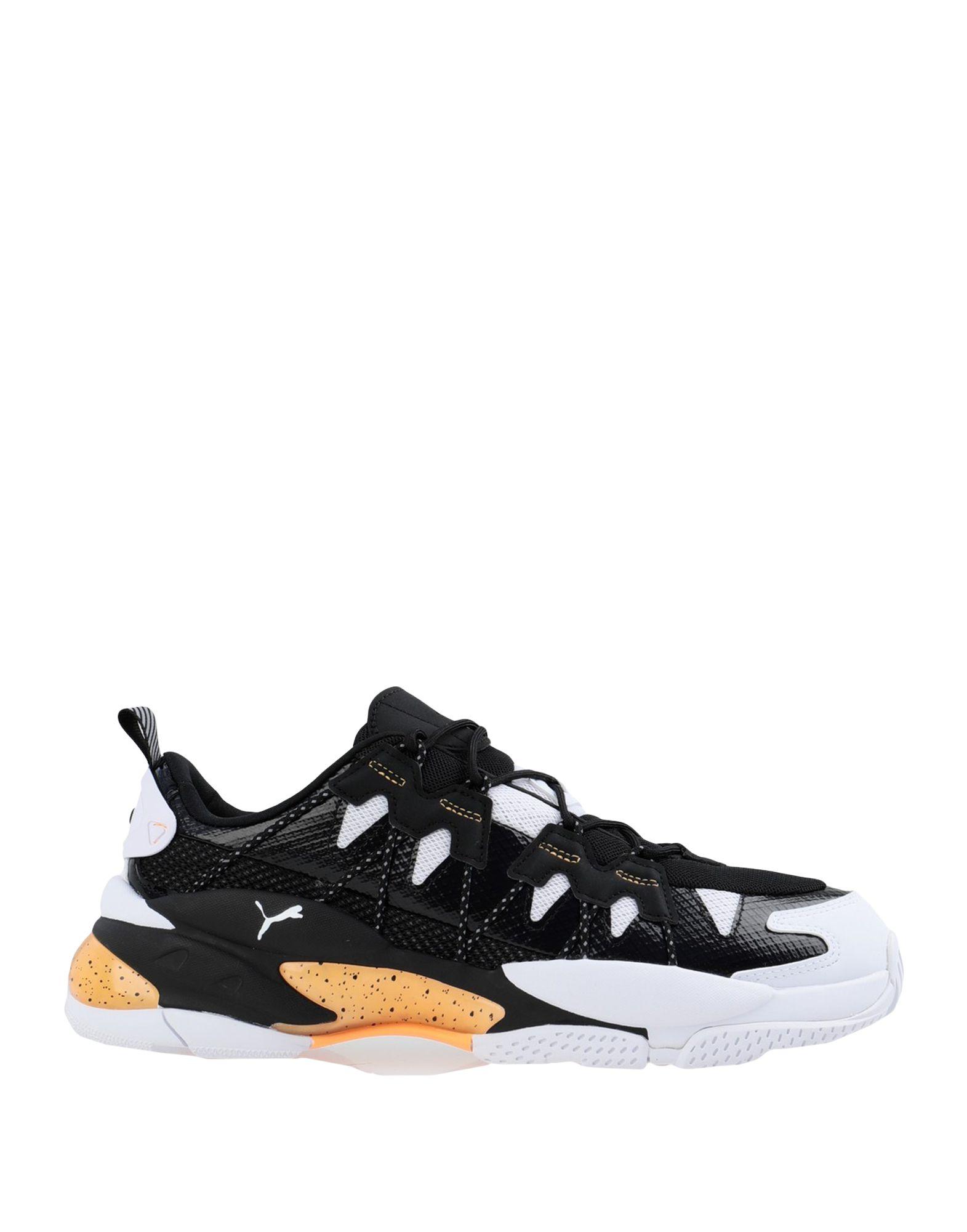 《セール開催中》PUMA メンズ スニーカー&テニスシューズ(ローカット) ブラック 7.5 紡績繊維 LQD CELL OMEGA DENSITY